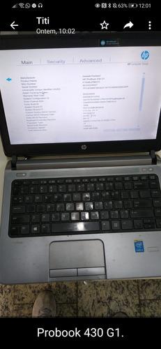 Imagem 1 de 1 de Probook Hp 430 G1 I5 Geração 4 Testado Hd 500g