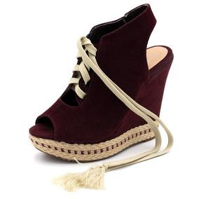 a90d9e2b2 Sandalia Feminina Cadarço - Sapatos no Mercado Livre Brasil