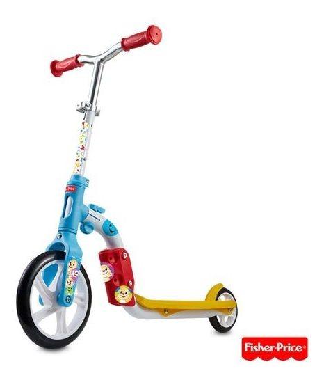 Bicicleta Equilibrio Patinete 2 1 Aro 8 Fisher Price Es164