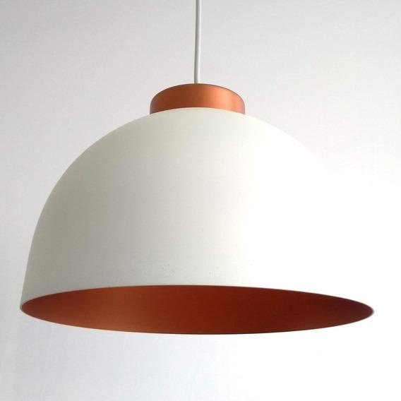 Pendente Alumínio Redondo Luns Isadora Design Ecwt