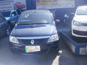 Renault Logan Auth 1.0 4p 2012 Azul Flex