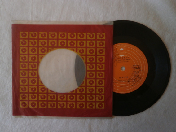 Lp Compacto Dave 1975 Runaway, Mille Et Uns Vies, Vinil Raro