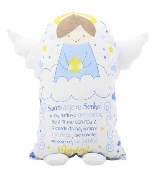 Travesseiro Naninha Com Oração Anjo Da Guarda Bebe Promoção