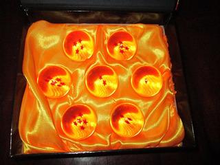 Esferas Del Dragon Caja Dragon Ball Z / 7 Esferas