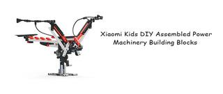 Diy Conjunto Bloques Maquinaria De Energía Ensamblada Xiaomi