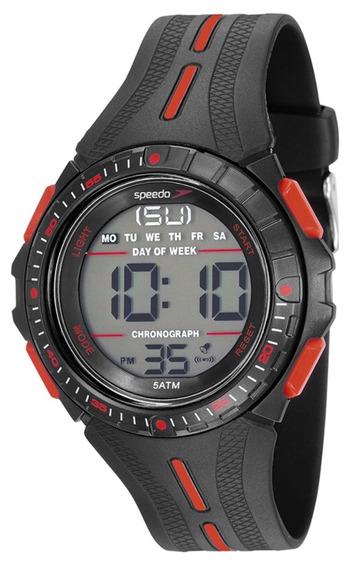 Relógio Masculino Speedo 81162g0evnp2 50mm Silicone