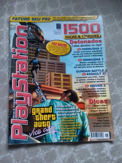 Revista Dicas E Truques Para Playstation Ano 4 - N° 45