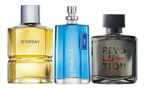 Lociones: Dorsay, Blue & Blue Y Revolut - mL a $174
