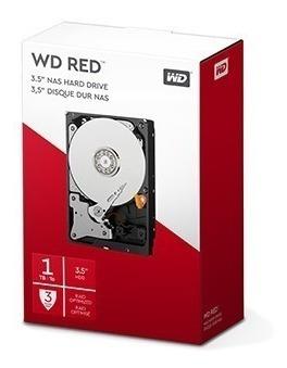 Hdd Wd Red 1 Tb Nas Para Servidor 24x7 - Wd10efrx P!