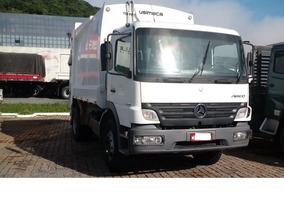 Mercedes-benz 1718 Compactador De Resíduos Usimeca 15m³ 2011