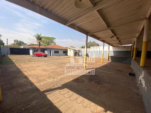 Galpão Para Alugar, 202 M² Por R$ 3.000,00/mês - Vila Carvalho - Ribeirão Preto/sp - Ga0155