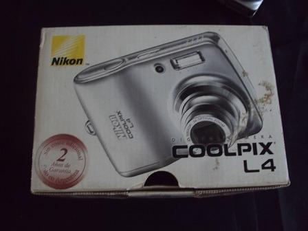 Camara Nikon Coolpix L4 3x Optica Zoom 4.0 Mp En Caja