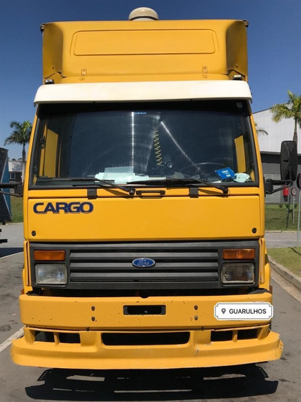 Ford Cargo 1415 Toco - 2000 - Baú - Plataforma Retrátil