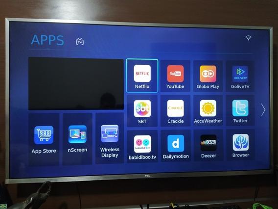 Tv 55 Polegadas 4k Tcl,hdr, Ótimos Gráficos... Produto Usado
