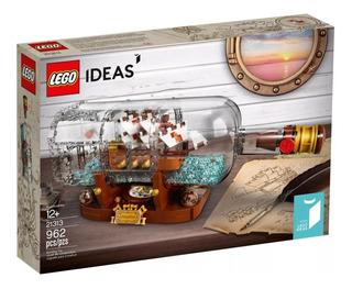 Lego Ideas Botella Barco En Una Botella Nuevo