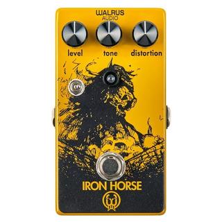 Walrus Audio Iron Horse Pedal De Distorsión Para Guitarra