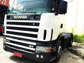 Caminhão Cavalo Mecânico Scania R124 Ga 4x2 Nz 400