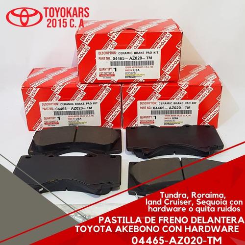 Pastilla De Freno Originales Toyota Delantera Tundra/roraima