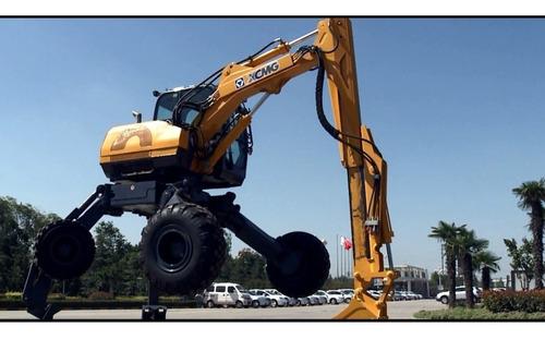 Excavadora Tipo Araña Xcmg Et112 / Et120 (manual / Remoto)