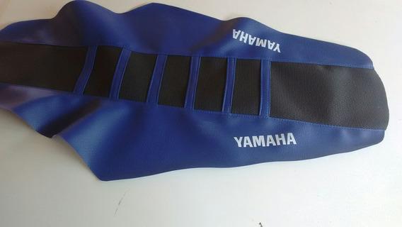 Capa Banco Yz Preto Azul Com Antiderrapante Hsycdj