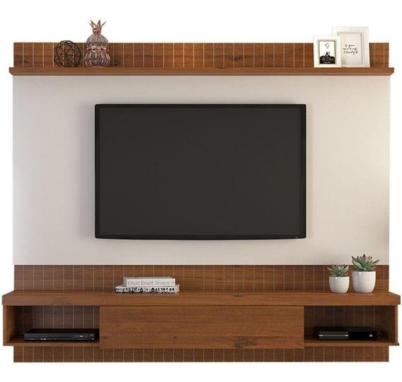 Painel Para Tv Até 65 Dj Móveis Sole 16708 Mdp E Mdf