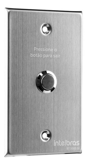 Botão De Saída Inox Bt 5000 In