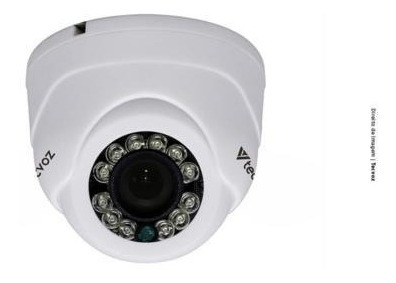 Câmera Tecvoz Mini Dome Flex Hd Ir 15m Cdm128mp - 4 Unidade