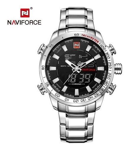 Relógio Masculino Naviforce Original Digital E Analógico