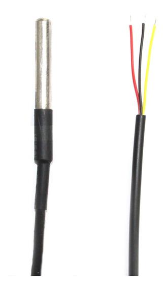 5x Sensor De Temperatura Ds18b20 À Prova D