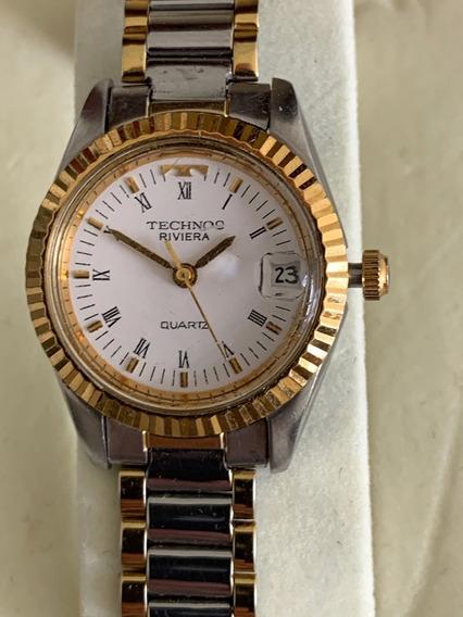 Relógio Technos Riviera Feminino - Original - Raridade