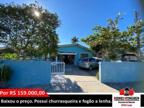 Imagem 1 de 15 de Casa Na Praia De Balneário Barra Do Sul. Imóvel Com 02 Dormitórios. - 353