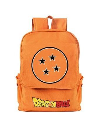 60d45f2f9f22 Mochila Dragon Ball Z Naranja 3 Yournelo