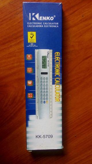 Regla/calculadora Electronica Kenko