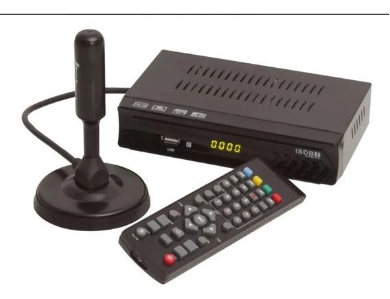 Conversor Digital Que Grava Analógico + Antena Hd Interna