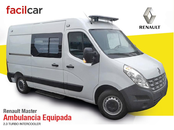 Renault Master Ambulancia Equipada 0km Diesel