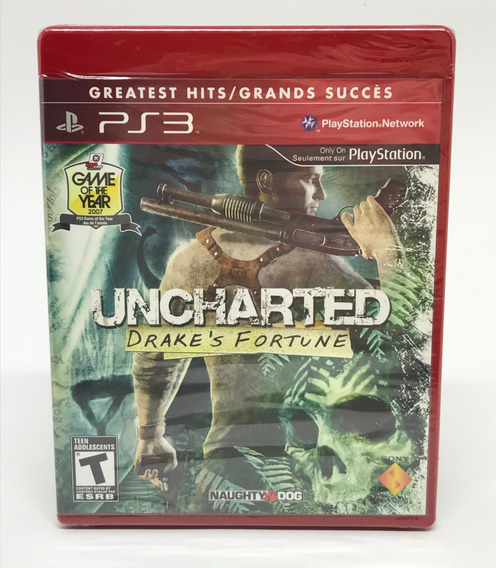 Jogo Ps3 Uncharted Drake