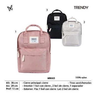 Mochila Trendy 8663