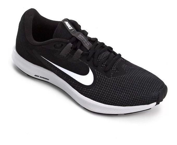 Tênis Nike Downshifter 9 Preto Original C/nota Fiscal
