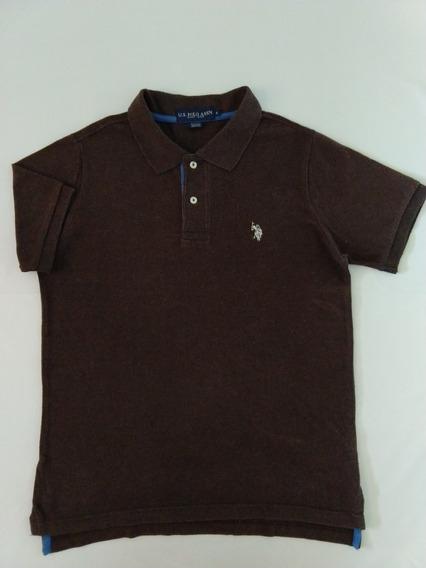 Camisa Polo Uspa Masculina P Importada Promoção Original