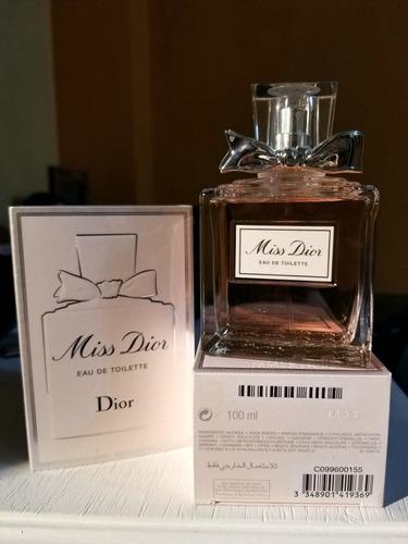 Perfume Miss Dior 100ml Original Eau De Toilette