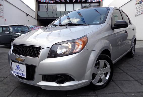 Chevrolet Aveo Ls Con Aire, Automatico, Mod.2014 Sedan