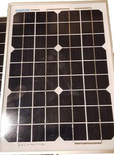 Panel Solar Fotovoltaico 10wp P/ Lámparas Solares De Jardín