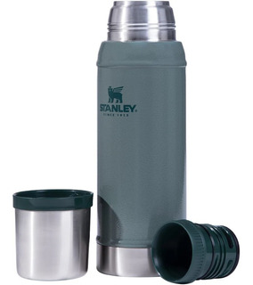 Termo Clasico Stanley 750ml 20h Frio Calor Tapon Cebador