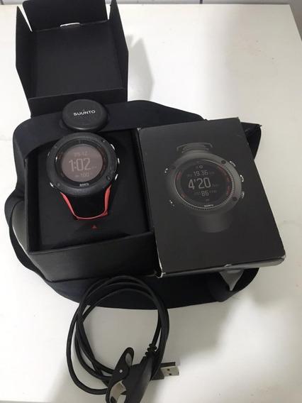 Relógio Com Cinta Para Monitoramento Cardíaco Suunto Ambit3