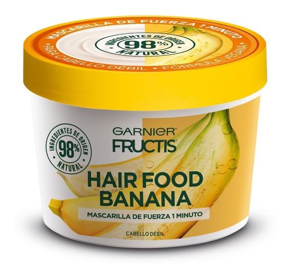 Tratamiento Fructis Hairfood Máscara De Fuerza X 350 Ml