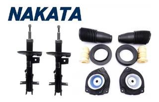 Amortecedor Dianteiro Nakata Kit Batente Nissan Sentra 2010