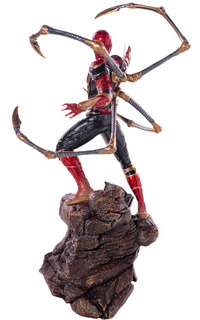 Iron Spider-man - 1/10 Bds - Infinity War - Iron Studios