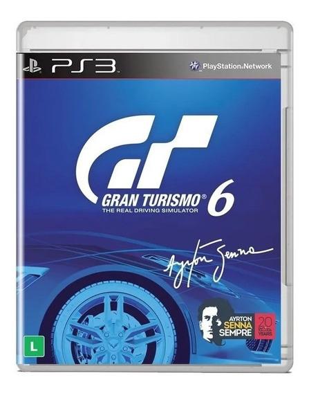 Gran Turismo 6 - Ps3 - Mídia Fisica (usado)