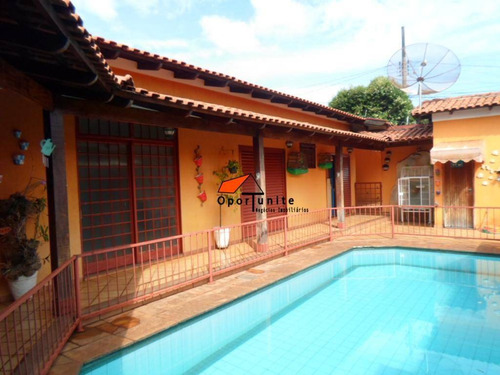 Casa 3 Dormitórios Com Suíte E Com Edícula À Venda, Jardim Paulistano, Ribeirão Preto. - Ca0592