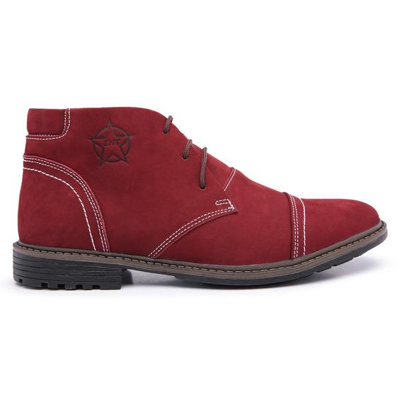 Bota Botina Masculino Casual Sapato Cano Curto Social